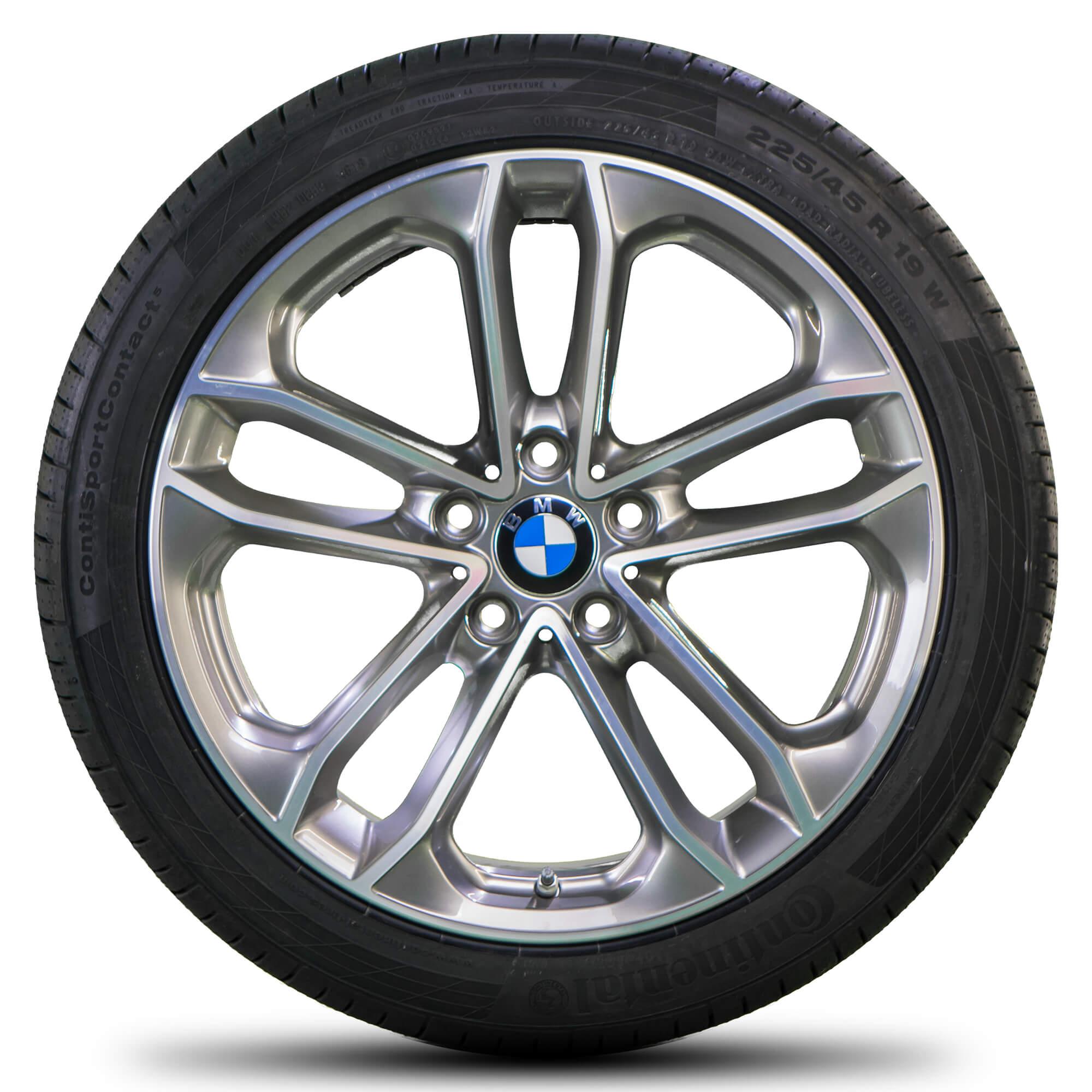 1x Original BMW 2er AT F45 GT F46 17 Zoll Alufelge Styling 478 Sternspeiche OB